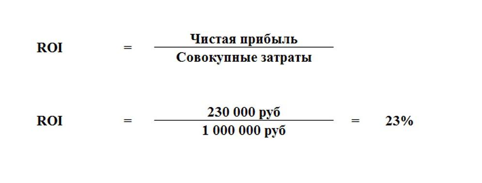 расчет инвестиций